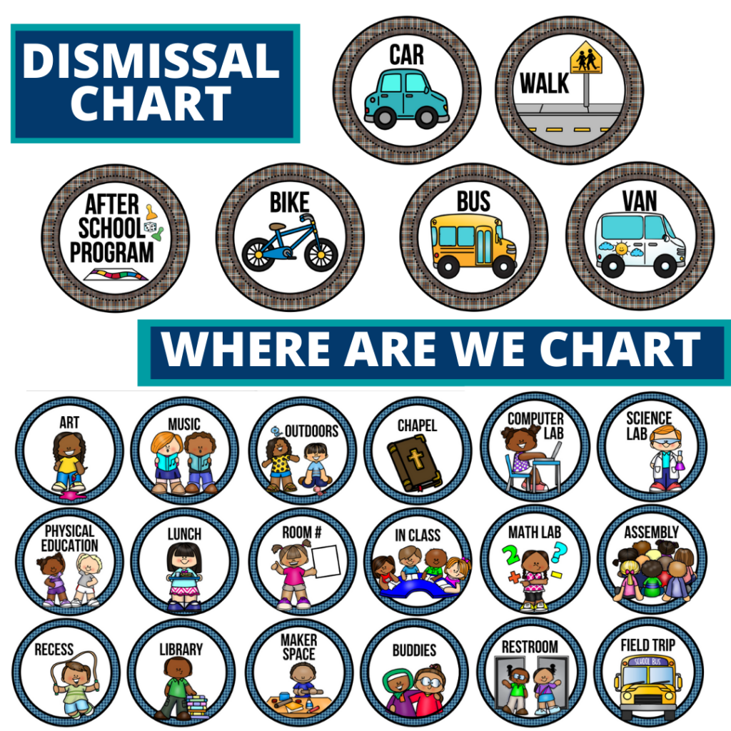 travel theme editable dismissal chart for elementary classrooms with for better classroom