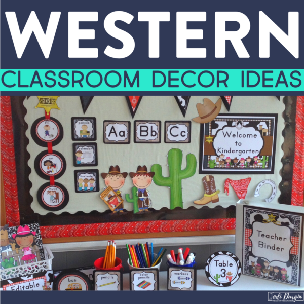 western classroom decor ideas