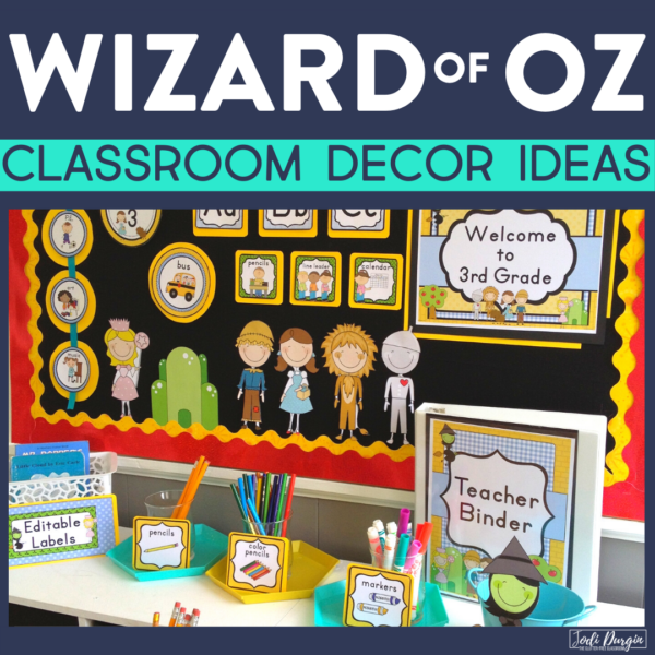 wizard of oz classroom decor ideas