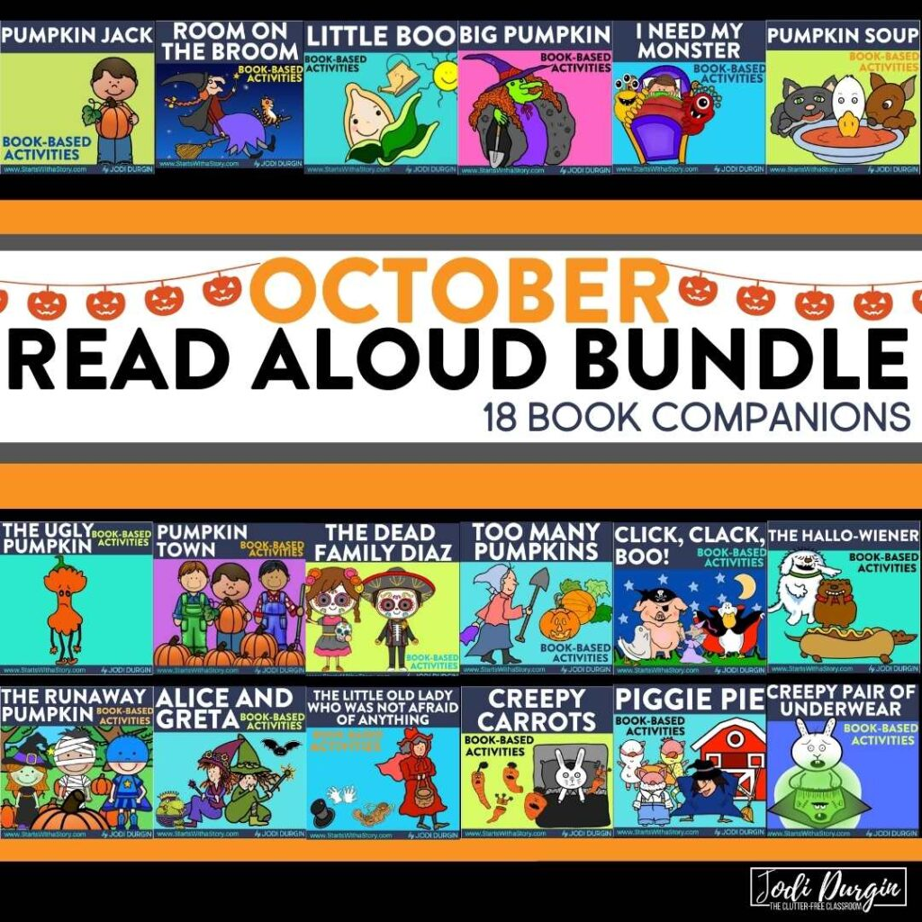 List of October Read Aloud Picture Books for Kids