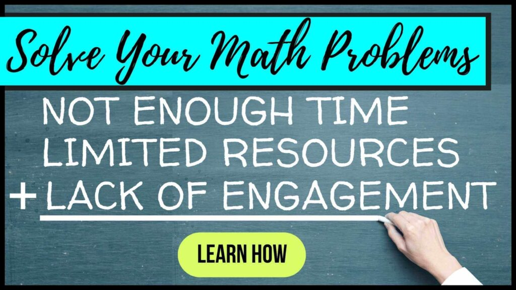 elementary math resource collection button