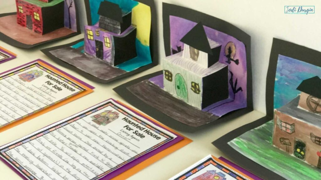 completed haunted house for sale writing and art project examples