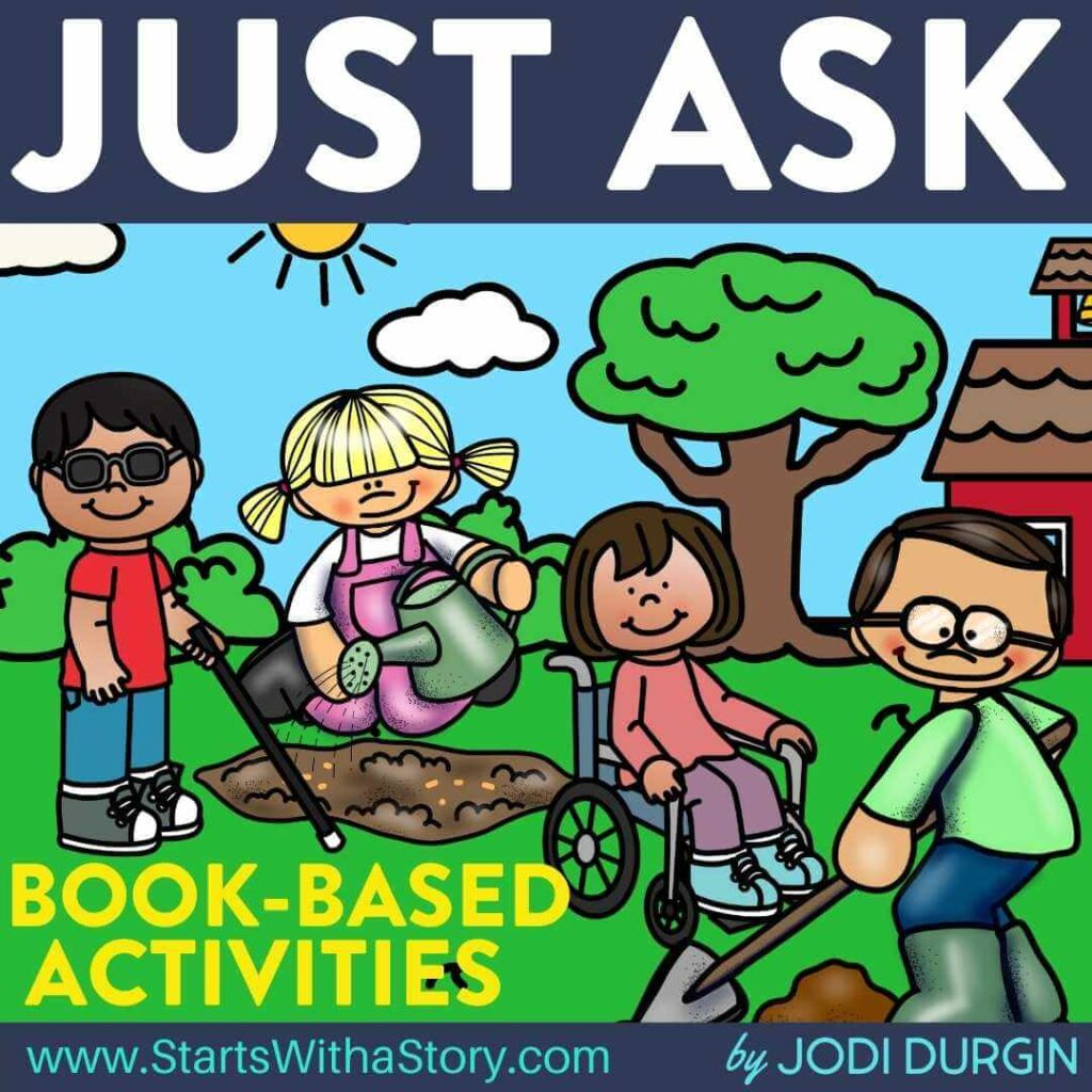 Just Ask! book companion