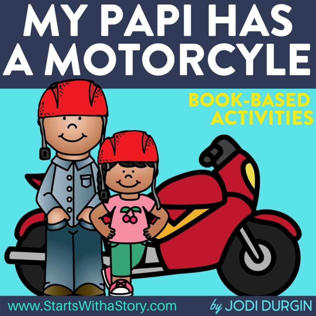 My Papi Has a Motorcycle book companion