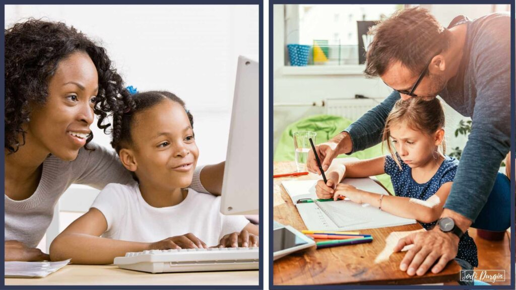parent teacher partnerships in elementary math lessons