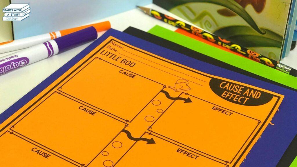 pumpkin books for kids activities little boo worksheet