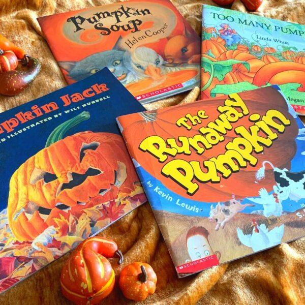 pumpkin books for kids read alouds