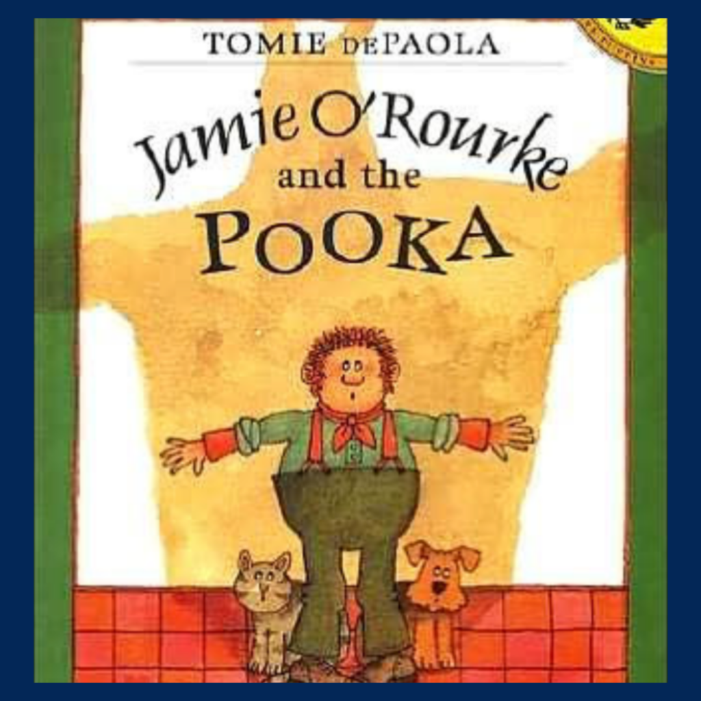 Jamie O'Rourke and the Pooka book cover