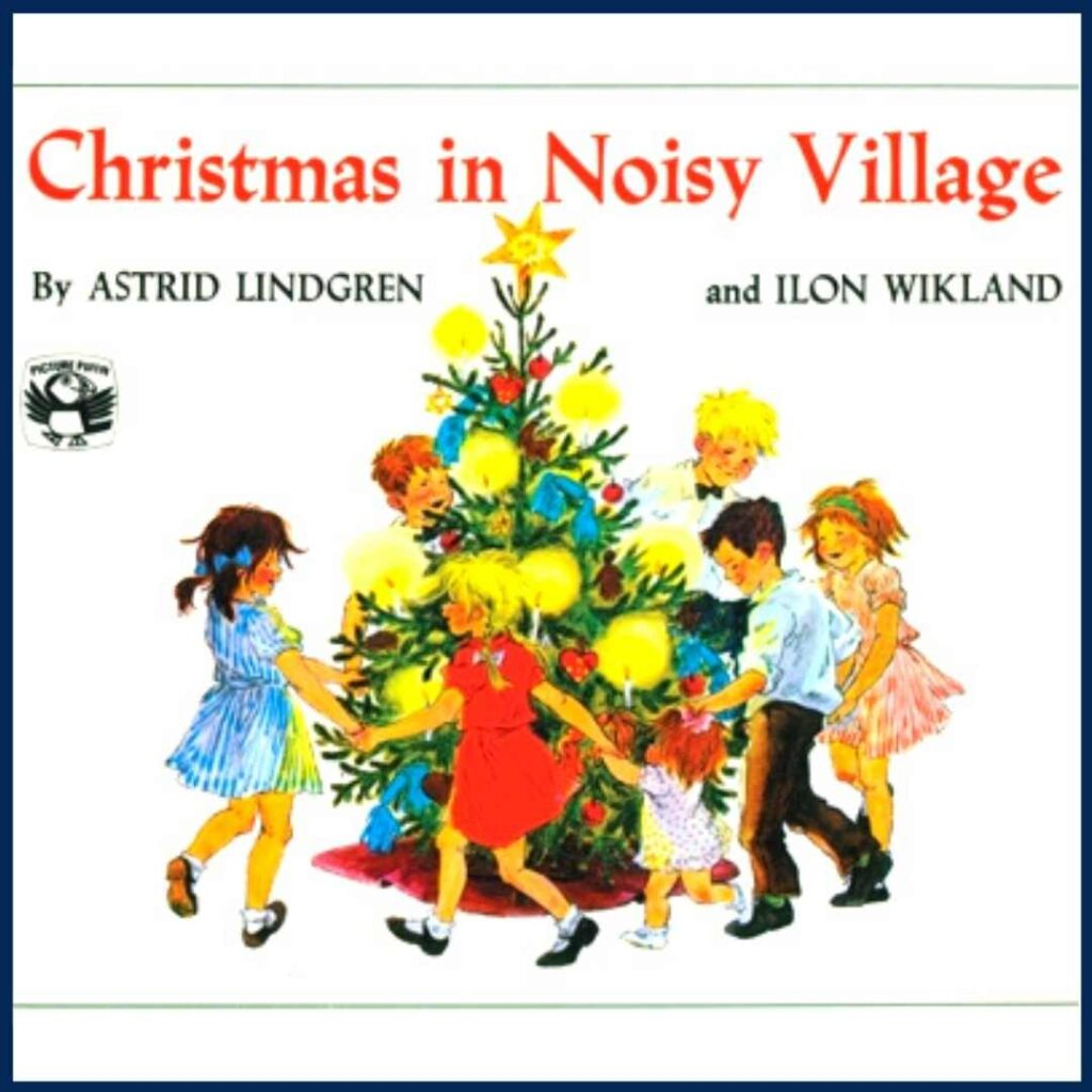 Christmas in Noisy Village book cover
