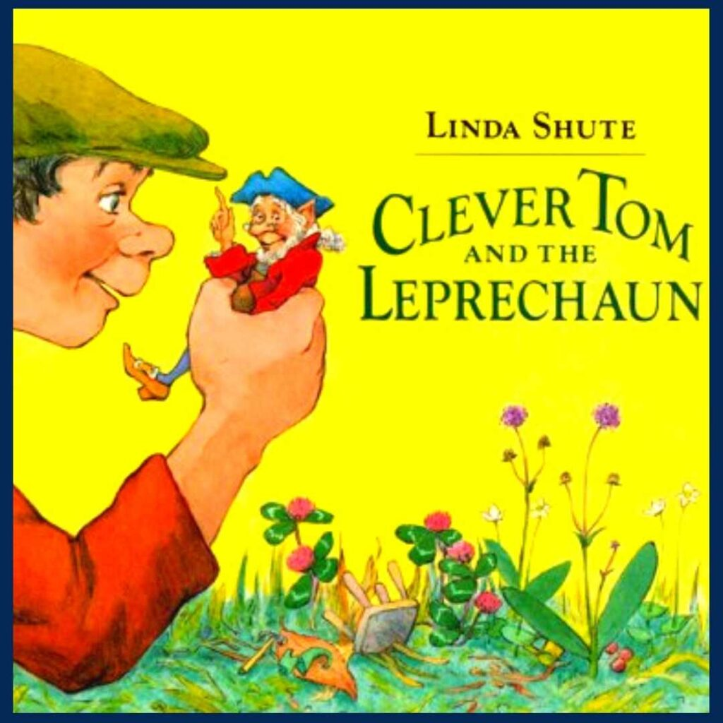 Clever Tom and the Leprechaun book cover