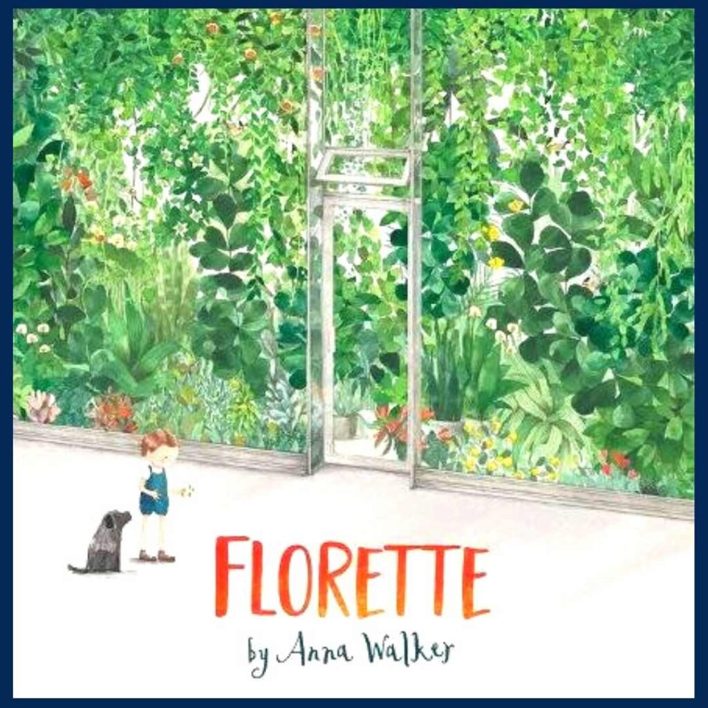 Earth Day story, Florette's book cover
