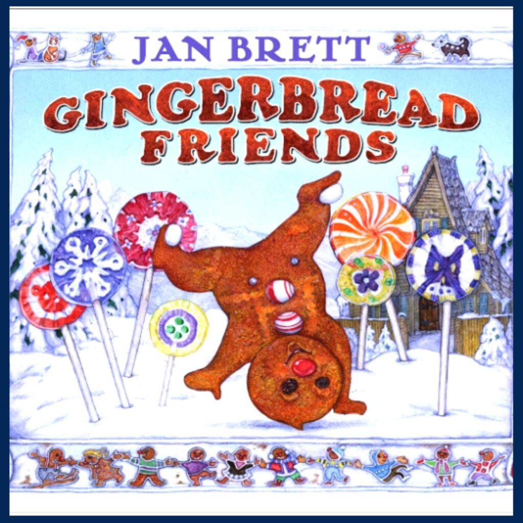 Gingerbread Friends book cover