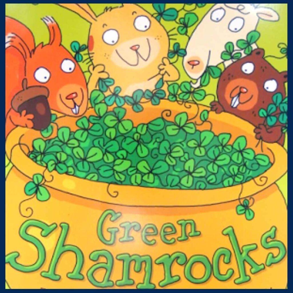 Green Shamrocks book cover