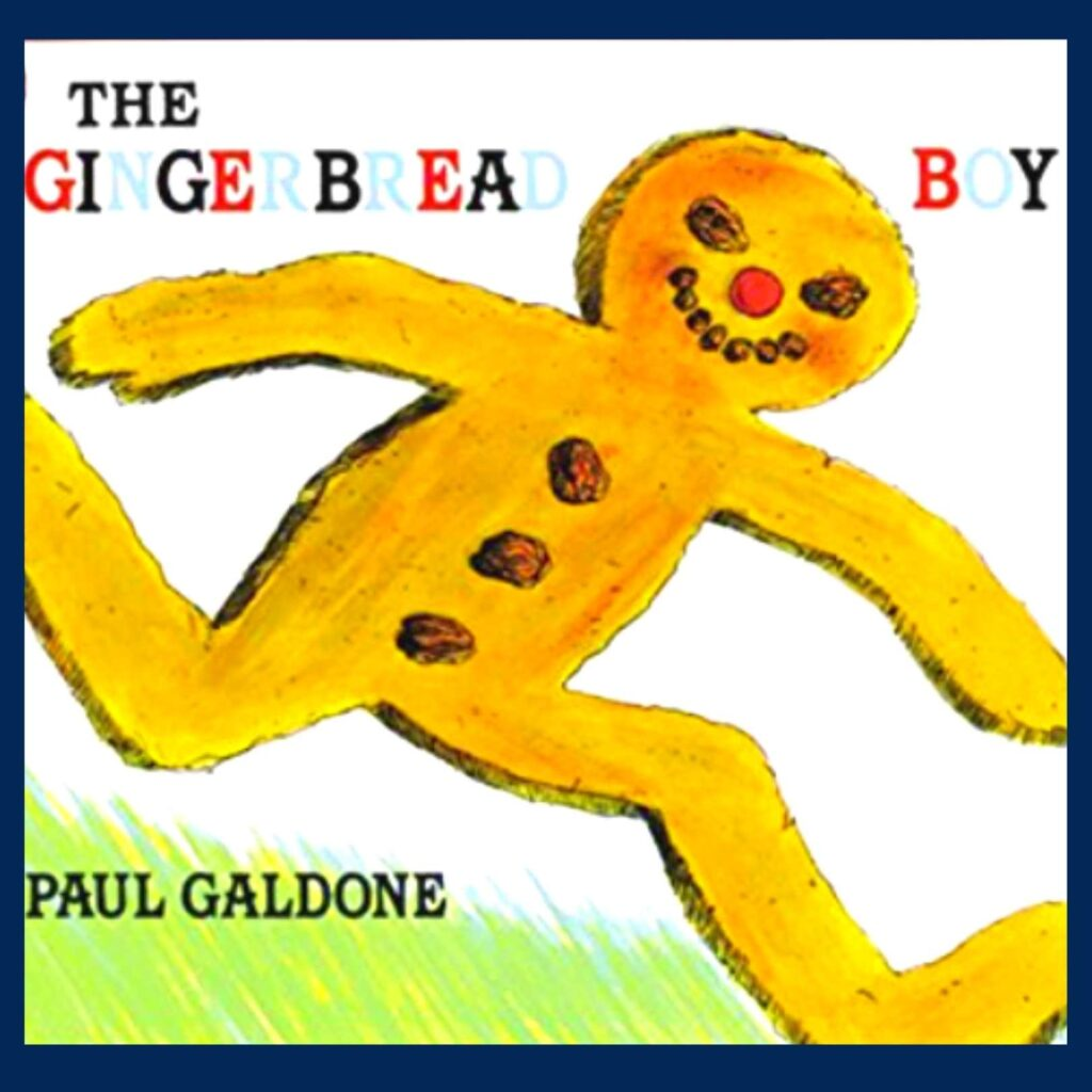 The Gingerbread Boy book cover