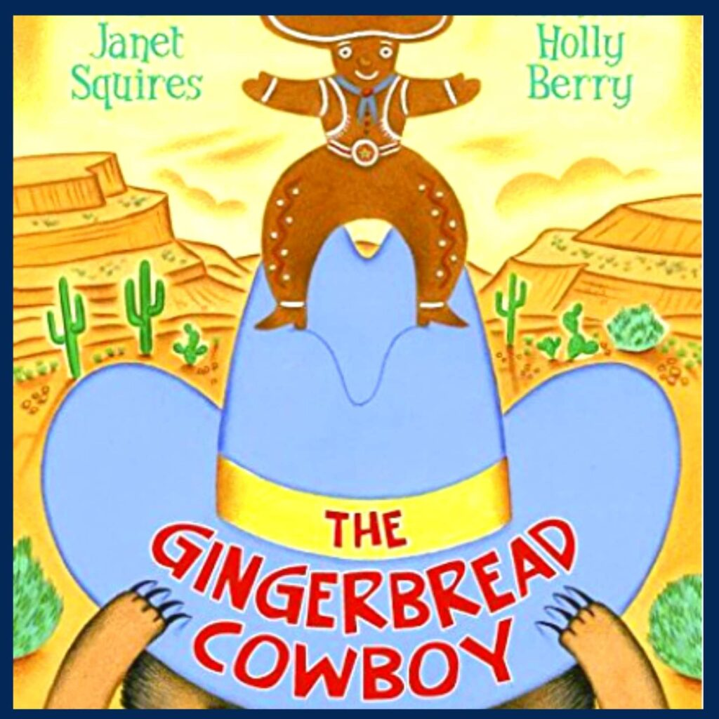 The Gingerbread Cowboy book cover
