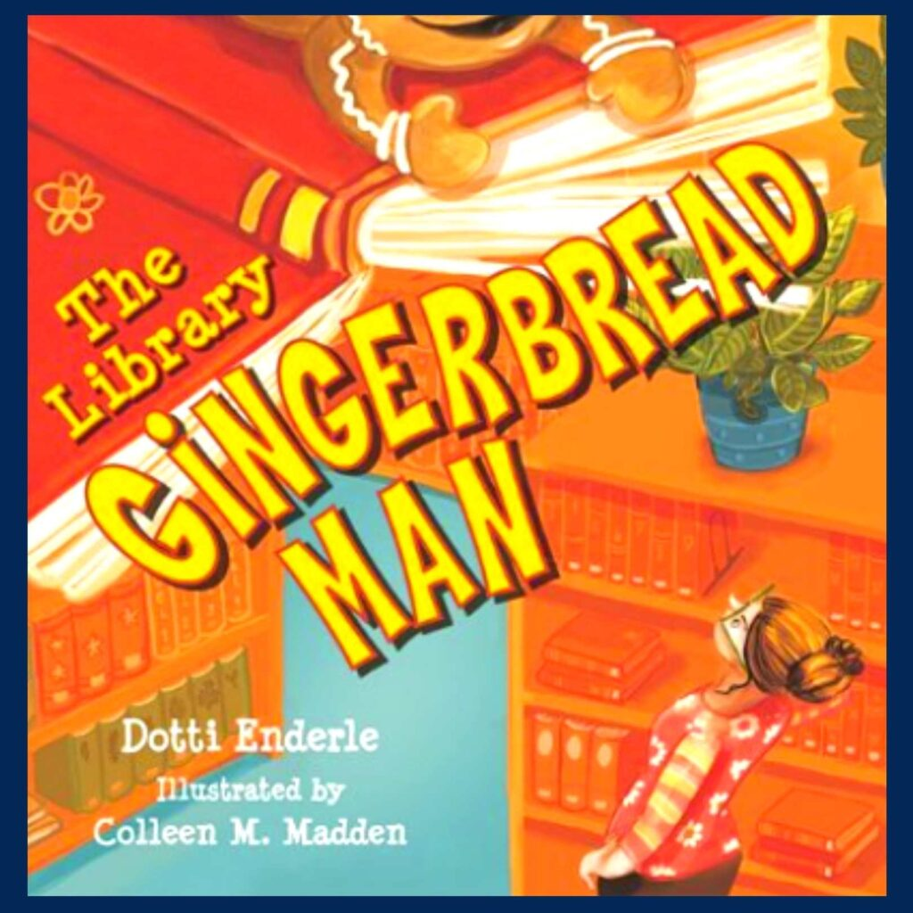 The Library Gingerbread Man book cover
