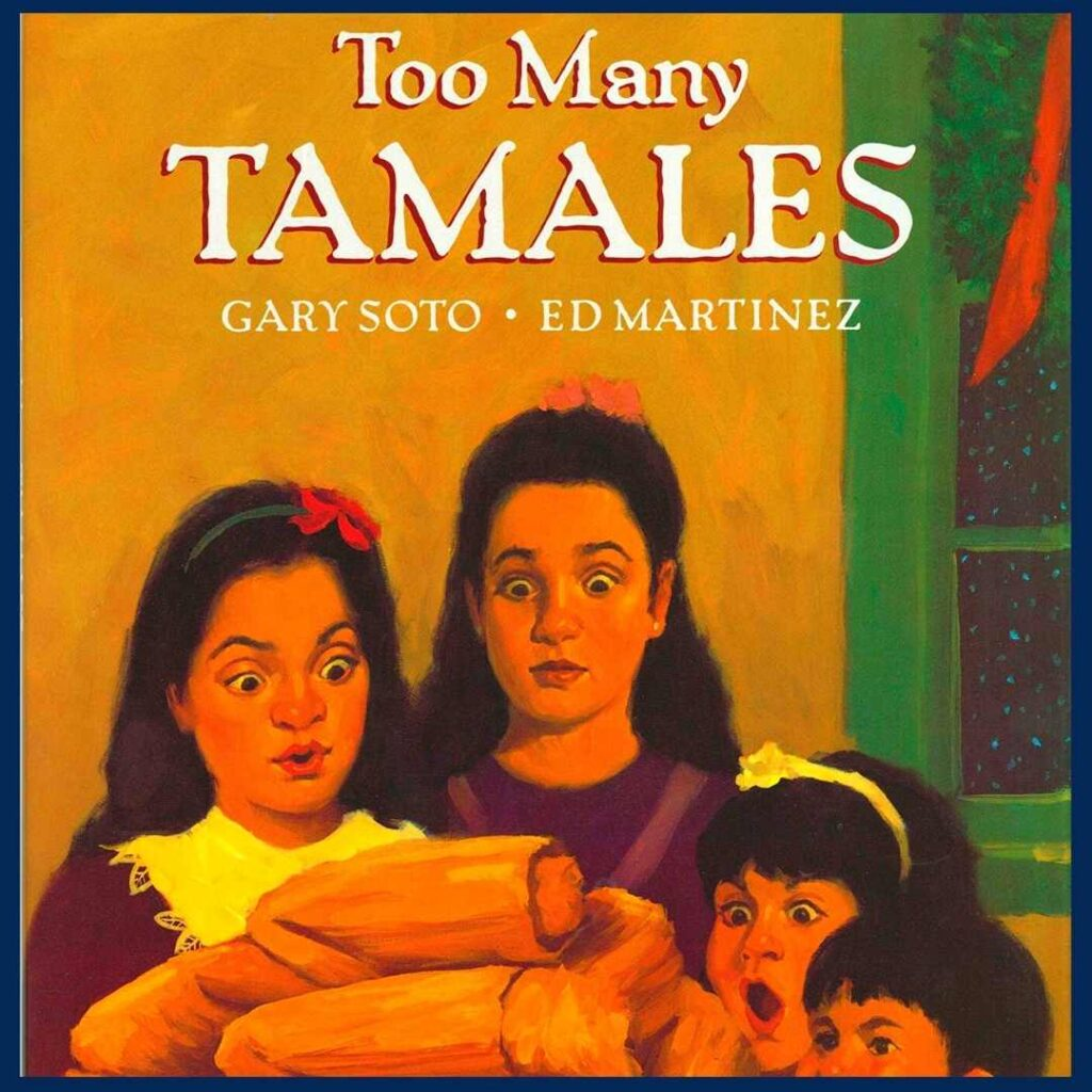 book cover of Too Many Tamales