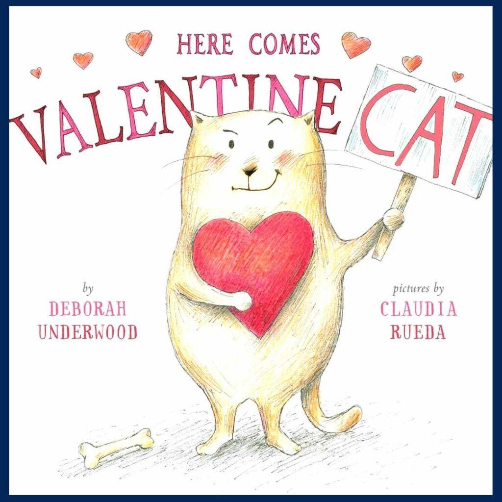Here Comes Valentine Cat book cover