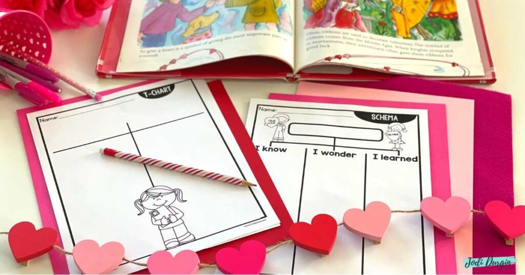 picture book activities valentines day