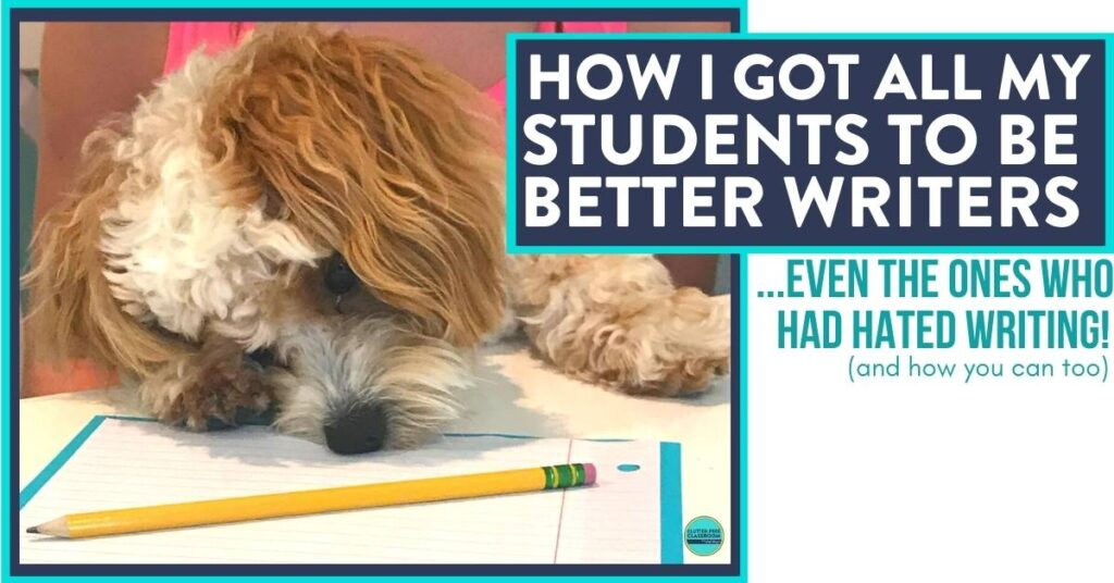 cute dog with his head down next to a paper and pencil