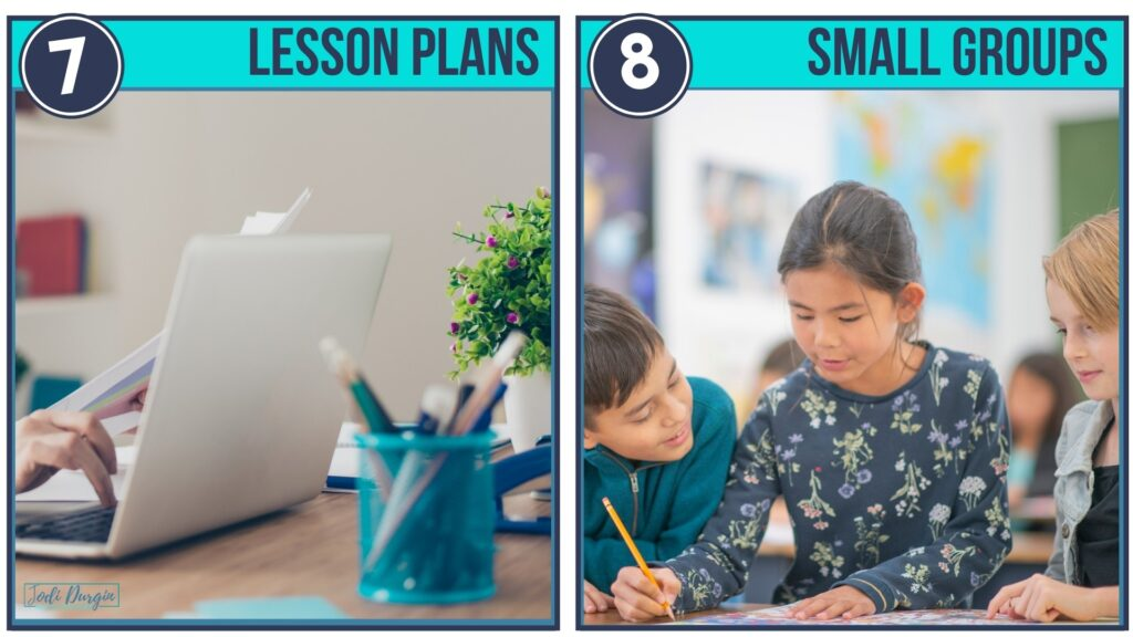 lesson planning for small group math instruction