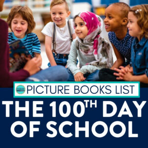 Kids listening to a 100th day of school book
