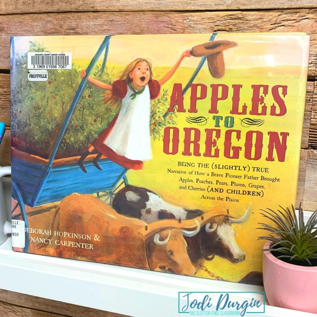 Apples to Oregon book cover