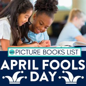 Kids reading April Fools books