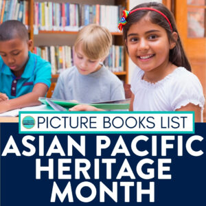 kids reading Asian Pacific Heritage books