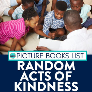 kids listening to a read aloud about kindness