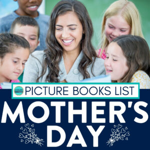 a class reading Mother's Day books