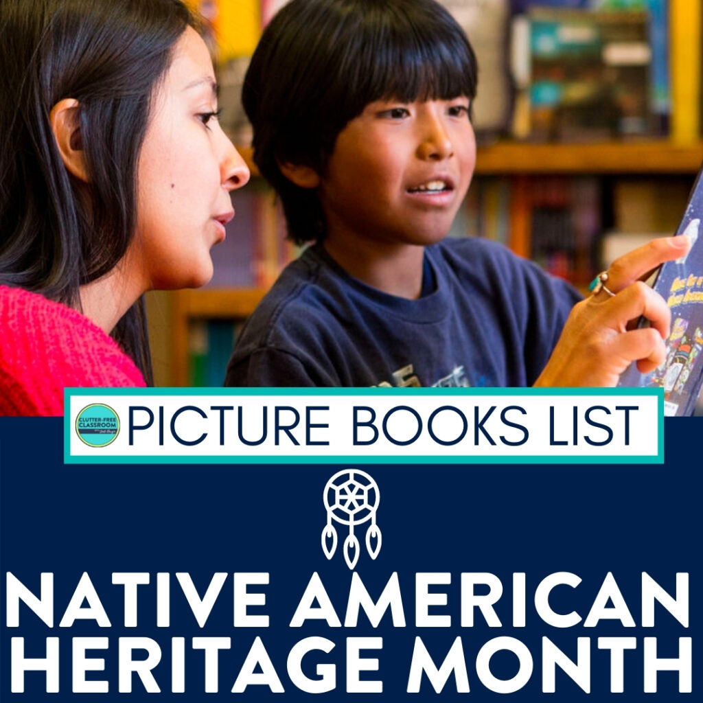 kids reading books about Native Americans