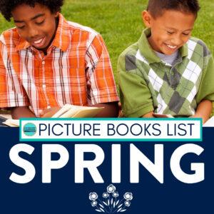 kids reading spring books