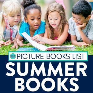 kids reading summer books