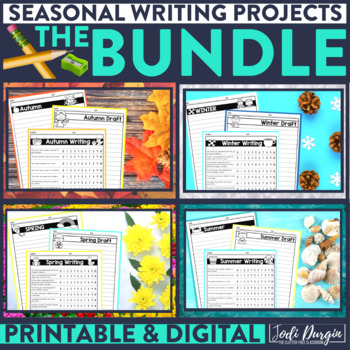 Pages from the Seasonal Writing Bundle