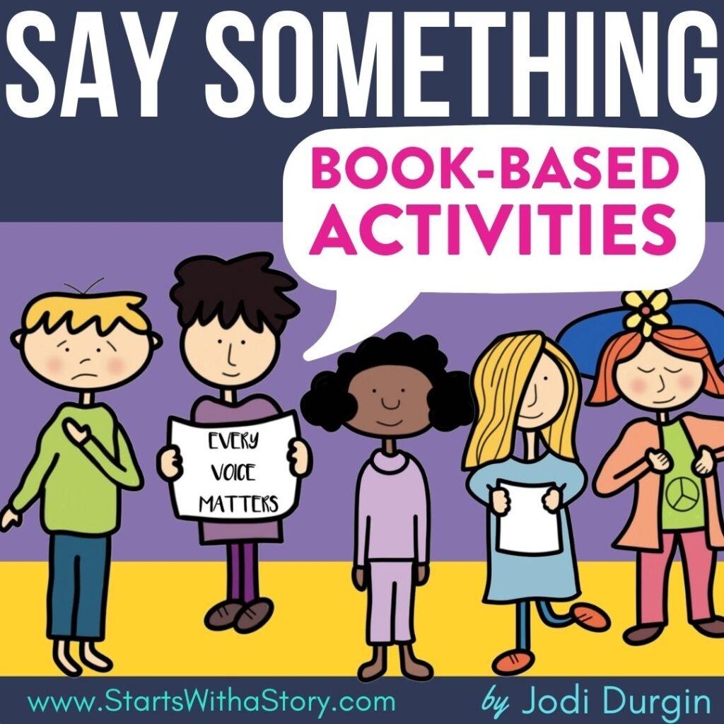 Say Something book companion
