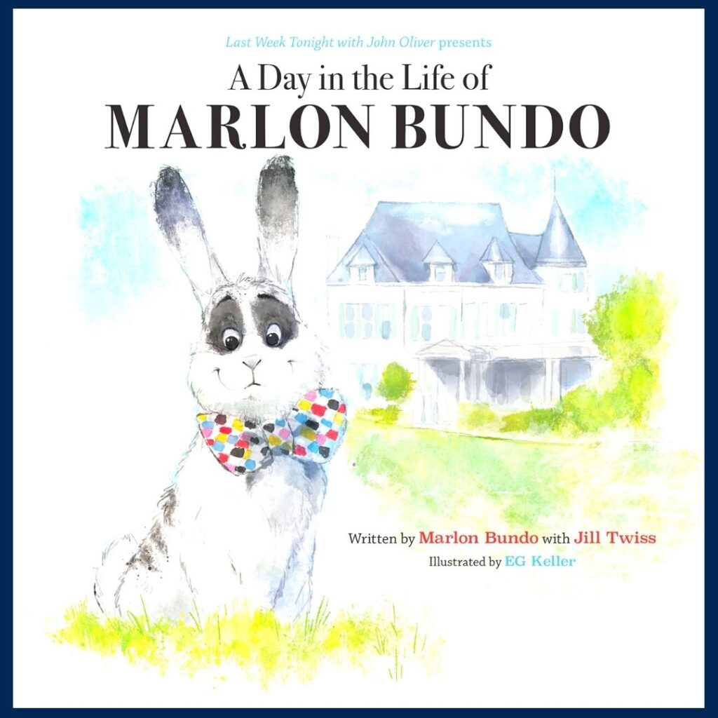 A Day in the Life of Marlon Bundo book cover