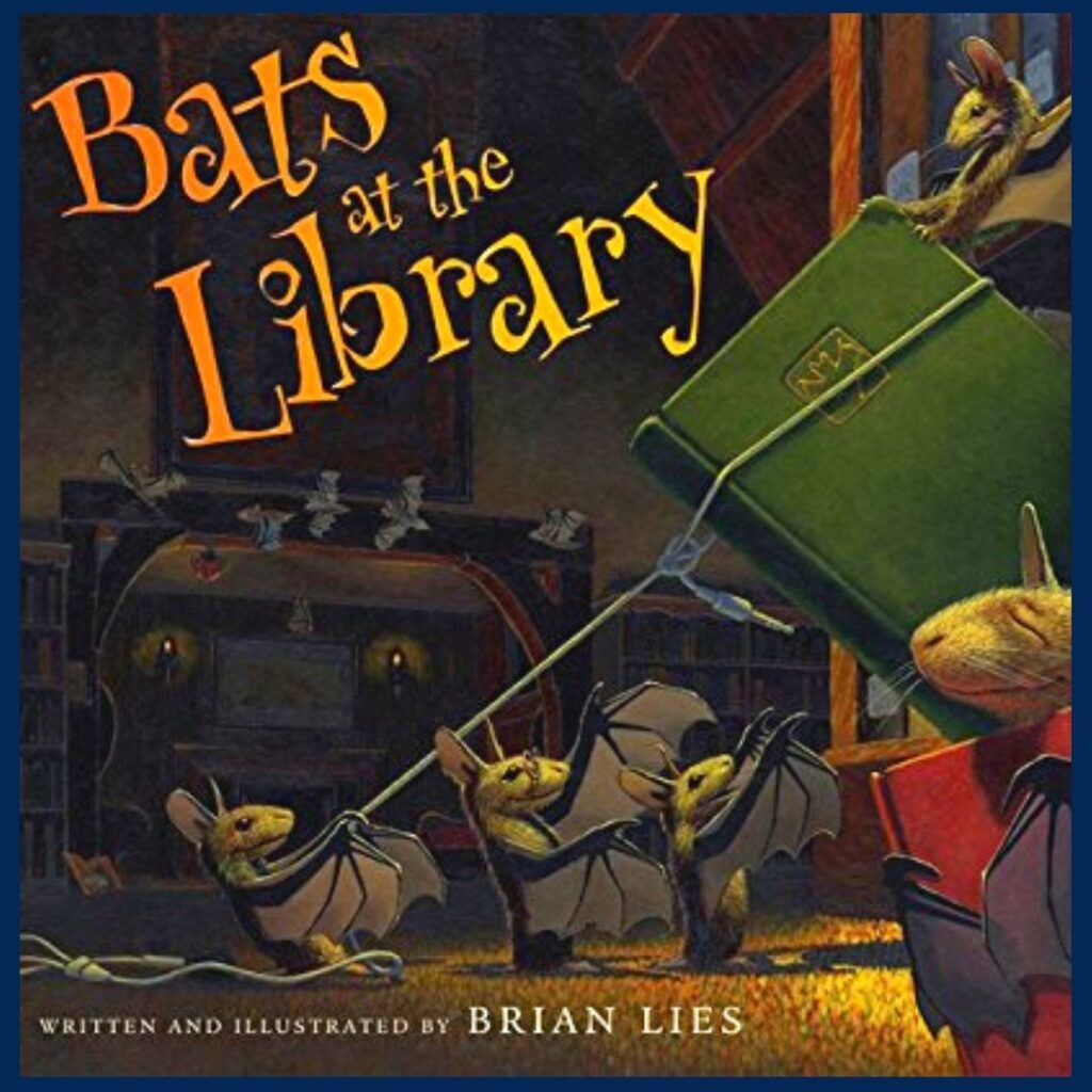 Bats at the Library book cover