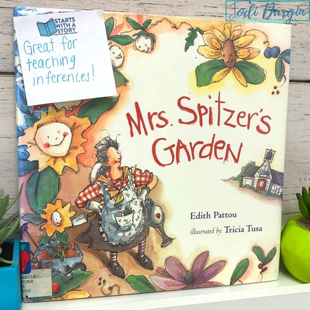 Mrs. Spitzer's Garden book cover