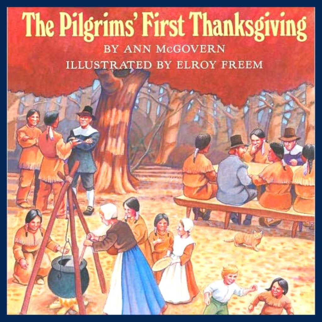 The Pilgrims' First Thanksgiving book cover