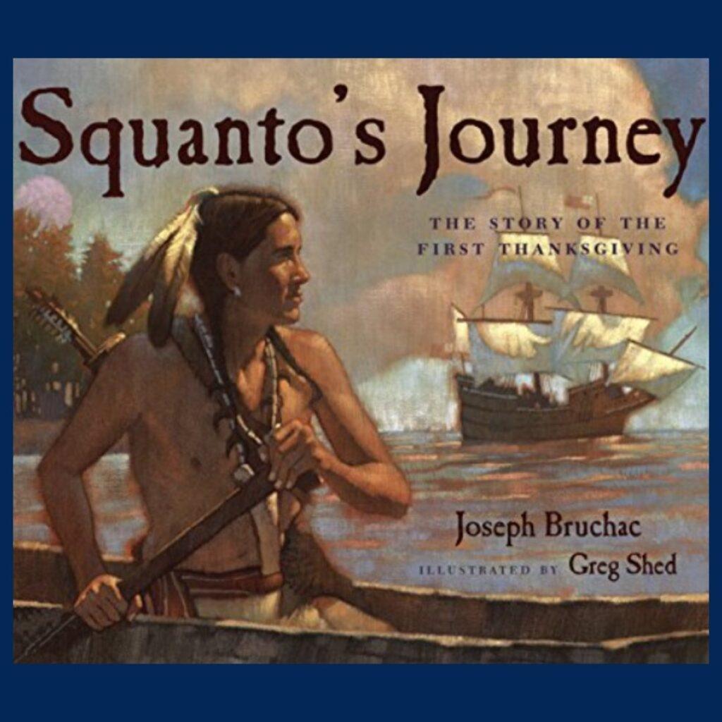 Squanto's Journey book cover