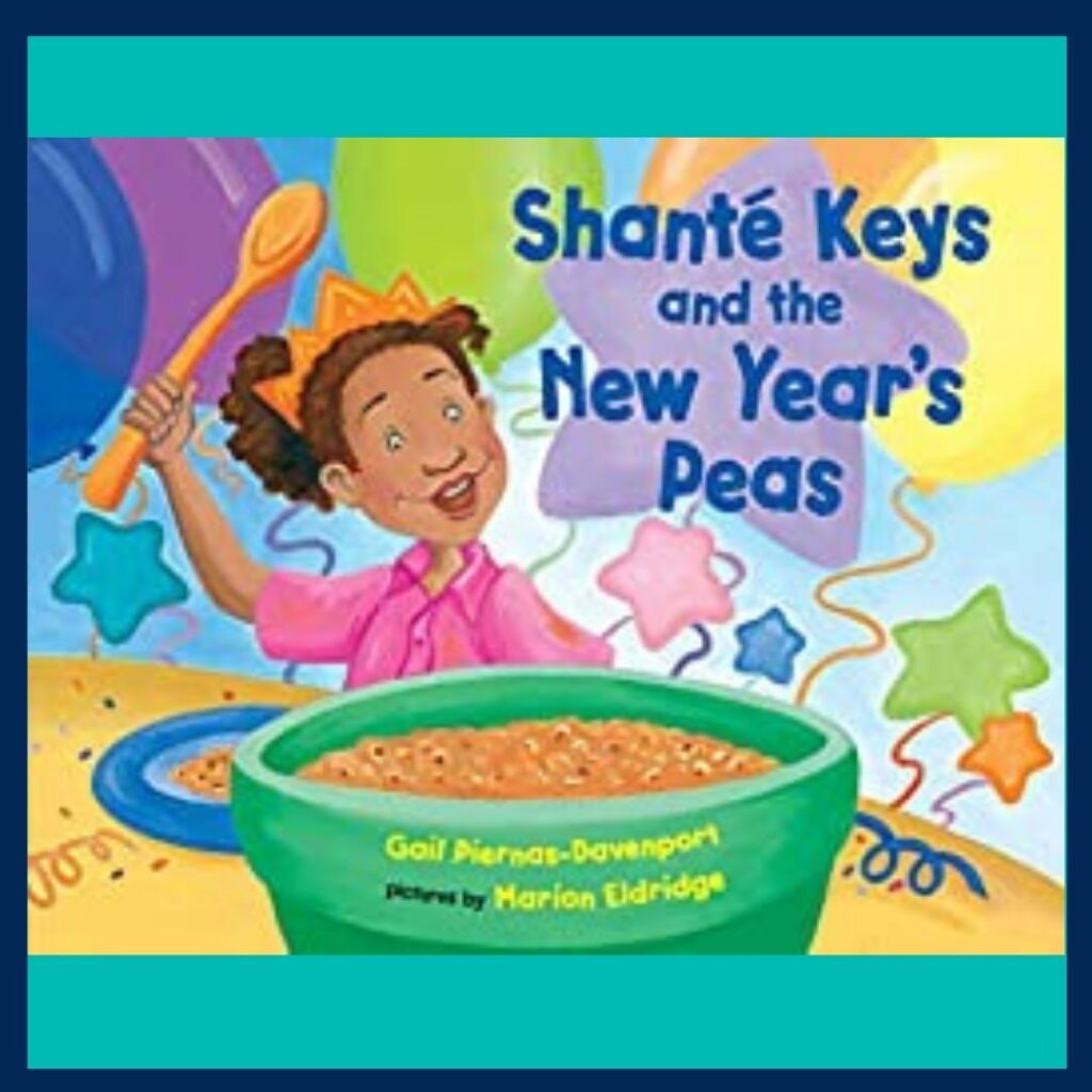Shante Keys and the New Year's Peas book cover