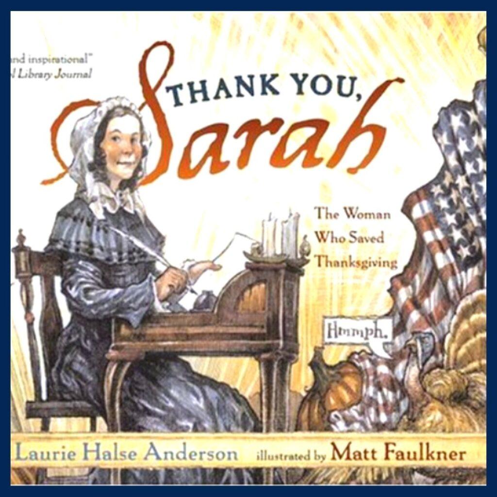 Thank You, Sarah book cover