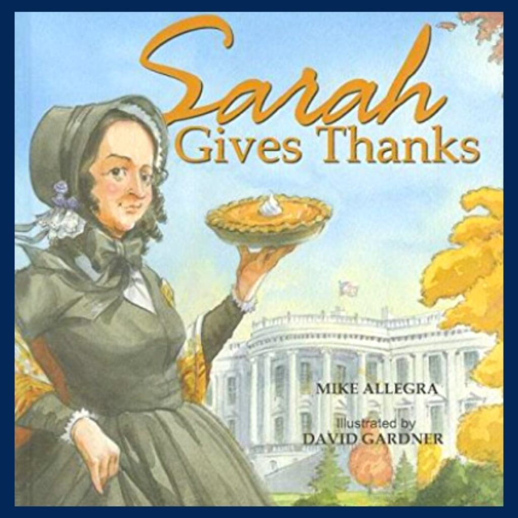 Sarah Gives Thanks book cover