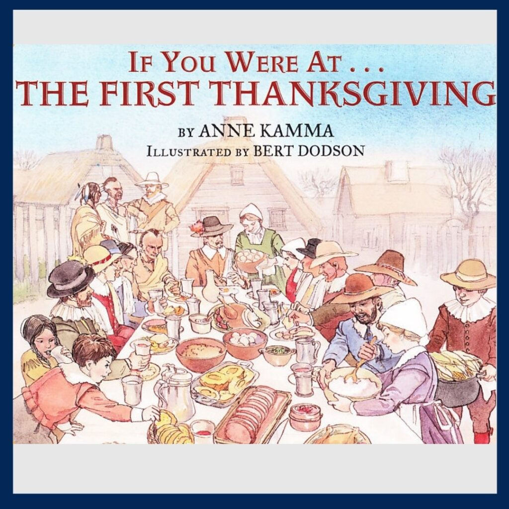 If You Were at the First Thanksgiving book cover