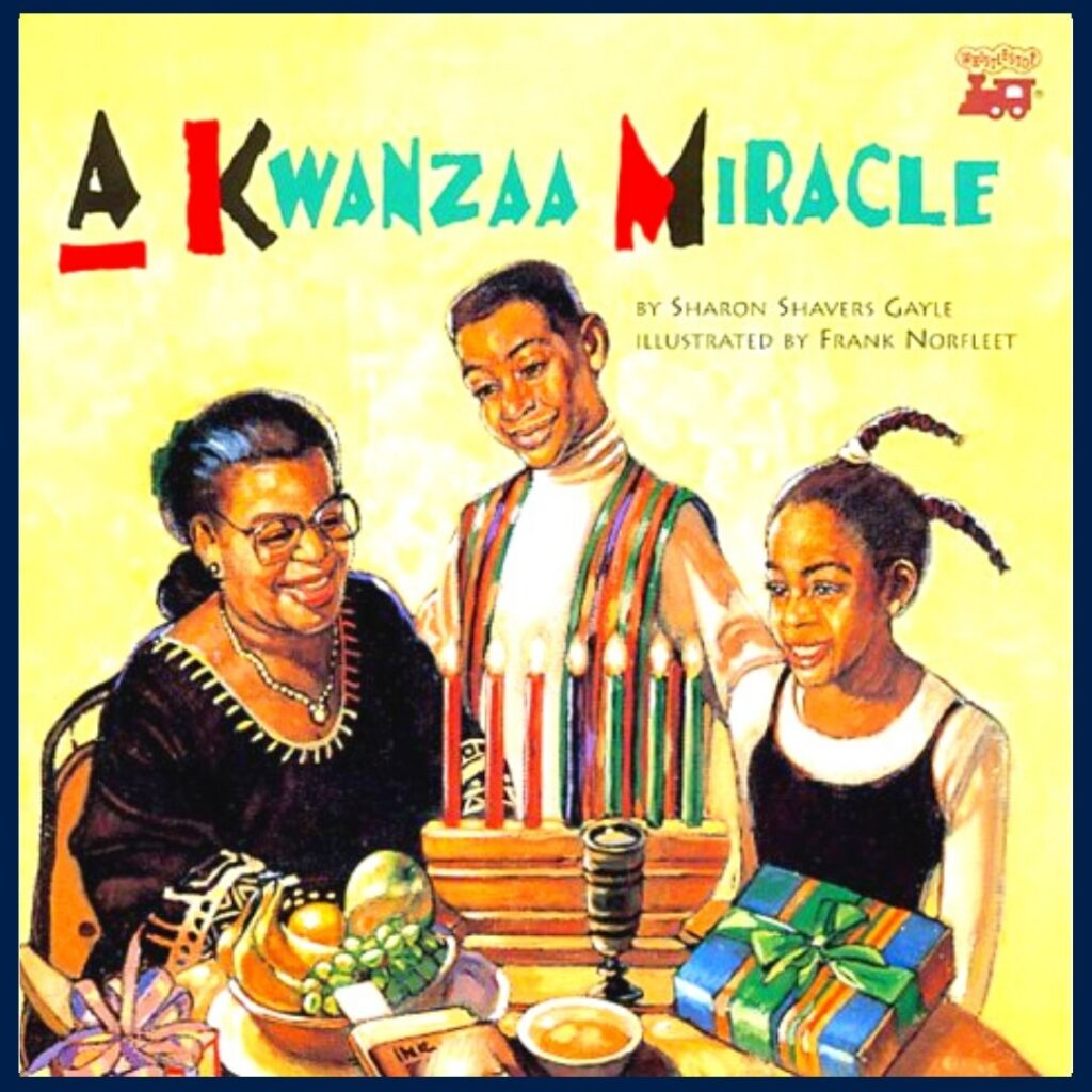 A Kwanzaa Miracle book cover
