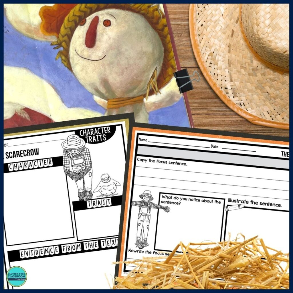 The Scarecrow worksheets