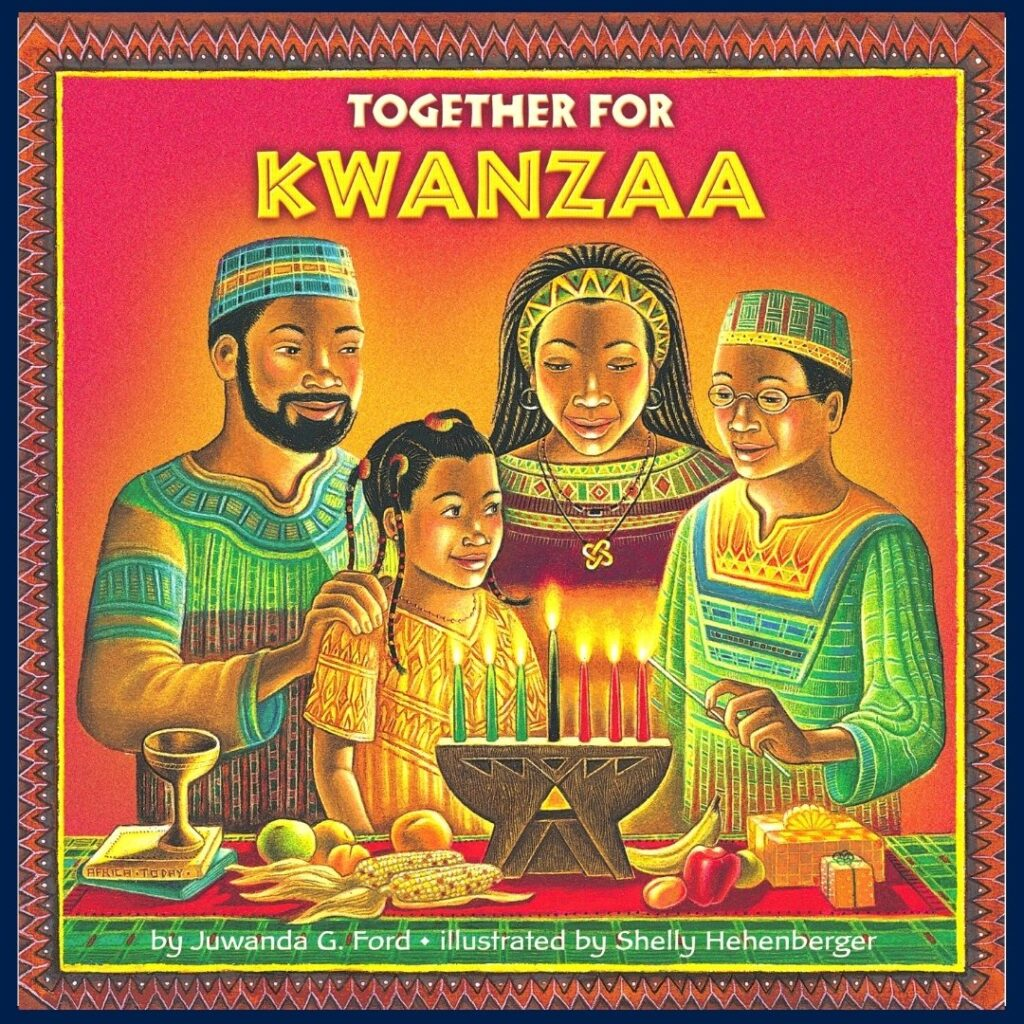 Together for Kwanzaa book cover